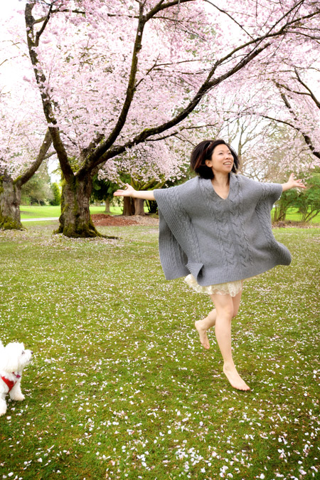 Running-in-Sakura