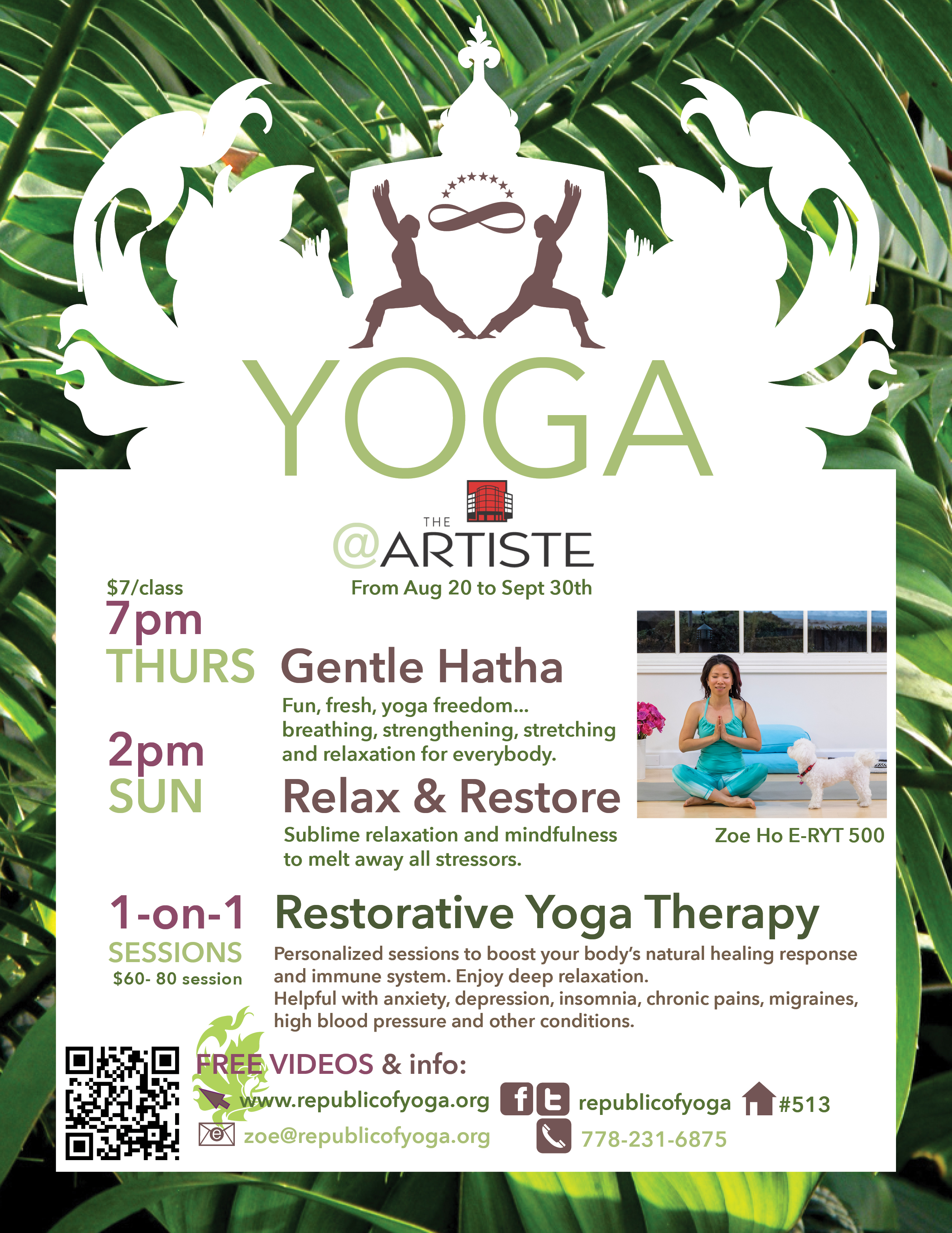 Yoga @ Artiste REV 1